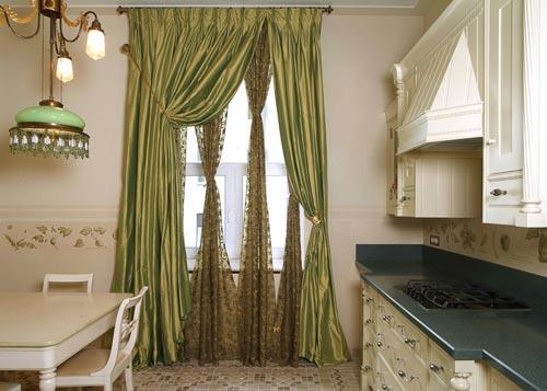 римские шторы для кухни...
