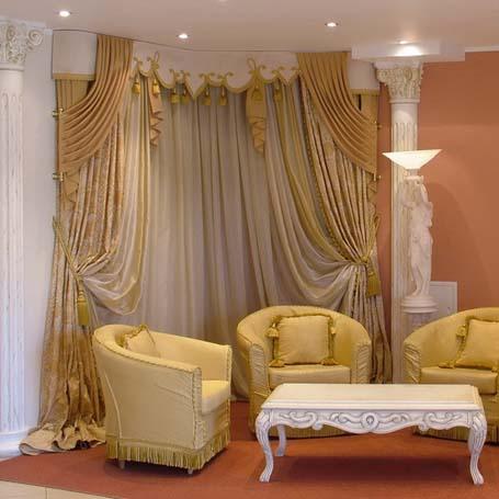 Дизайн занавесок для комнаты
